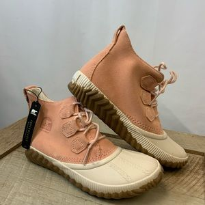 Sorel Out n About Plus Waterproof Suede Duck Boot